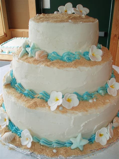Beach Wedding Cake   CakeCentral.com