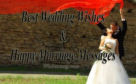 Best Wedding Wishes & Messages For Married Couple   WishesMsg