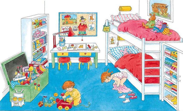Describing a Children's Bedroom. Visit: www.emilieslanguages.com or https://www.facebook.com/emilieslanguages #emilieslanguages #bedroom