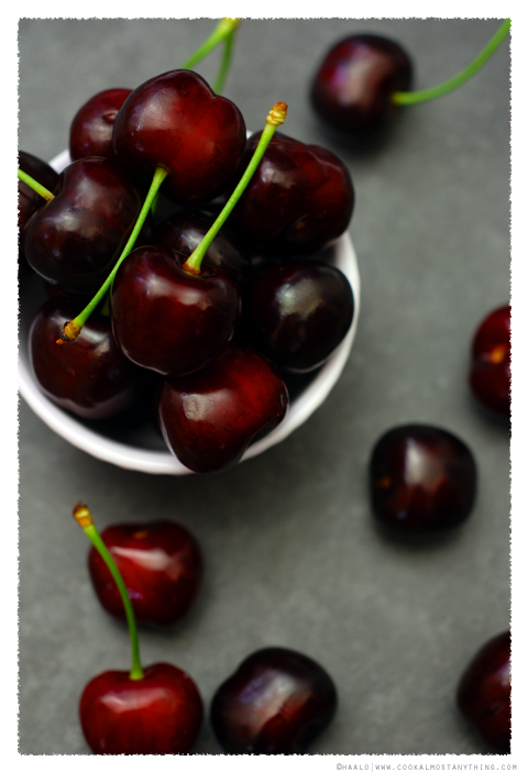 Early Burlat Cherries© by Haalo