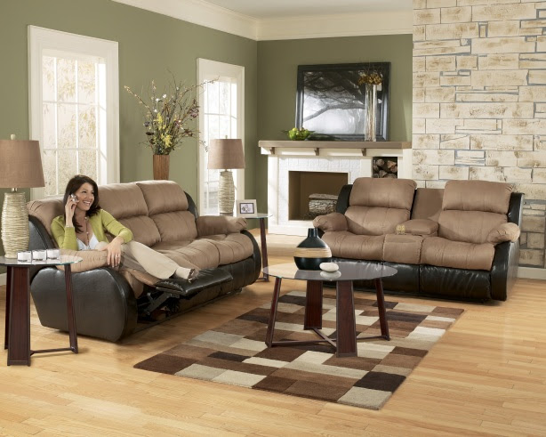 Ashley Furniture Presley 31501 Cocoa Living Room Set | Furniture PM