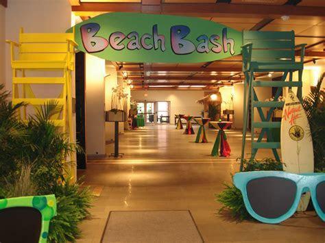 Beach Themed Entryway   Orlando Event Decor Rentals