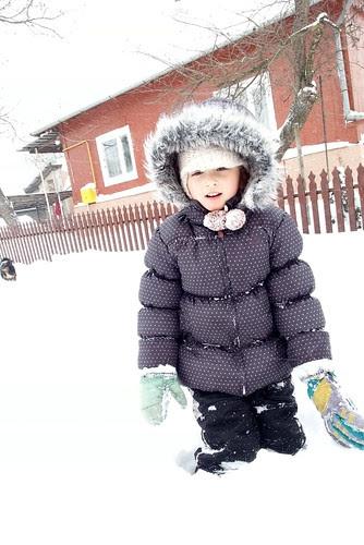 2013-03-15 Lila w śniegu