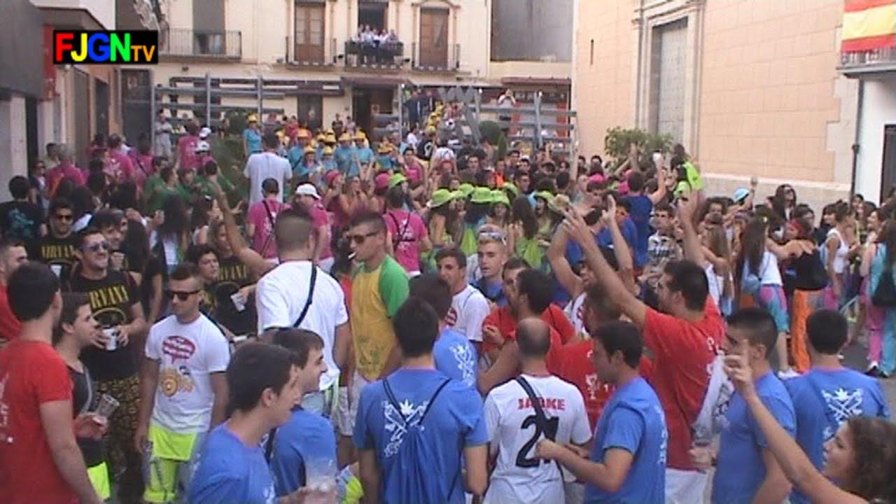 Chupinazo y Desfile de Peñas - Festa La Vila 2013 - La Vilavella