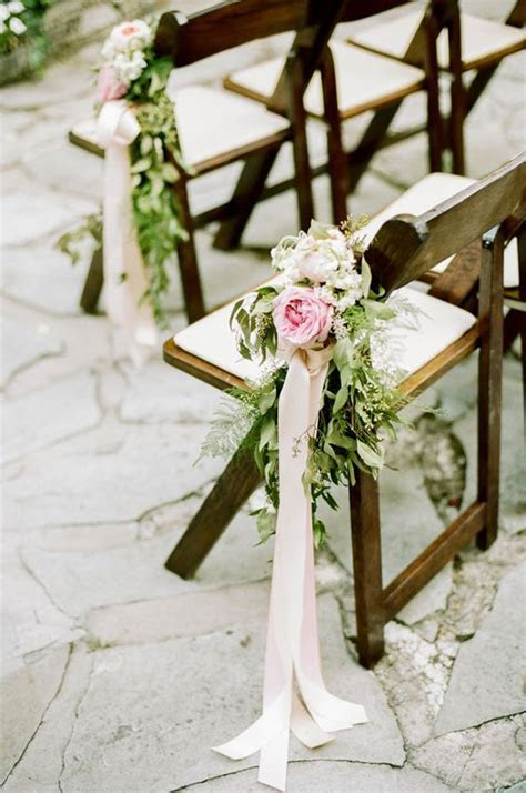 Glamorous Meet Wedding Chair Flower Decoration Ideas