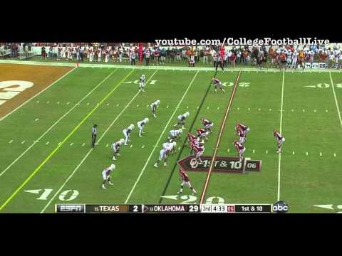Oklahoma QB Landry Jones vs Texas - 2012
