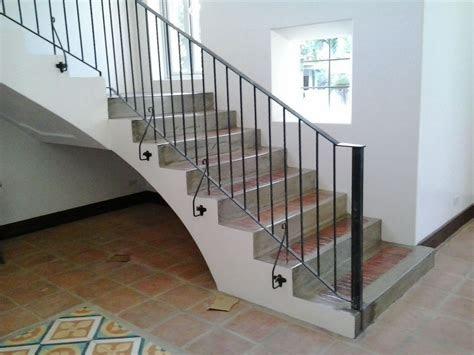 stair railing simple design cavitetrail glass railings