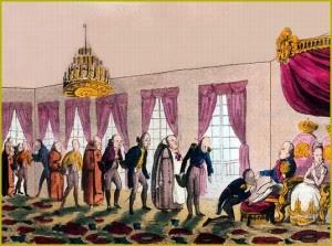 A cerimônia do beija-mão no reinado de Dom João: uma corte corrupta e perdulária que vivia da troca de favores da monarquia