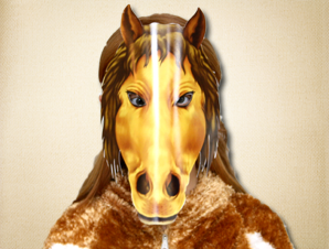 Awesome Printable Horse Mask | Instant download horse head mask ...