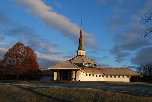Monastery in November