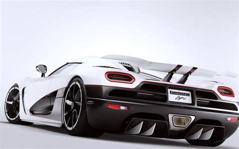 White Car Koenigsegg Agera R Best Wallpapers HD / Desktop