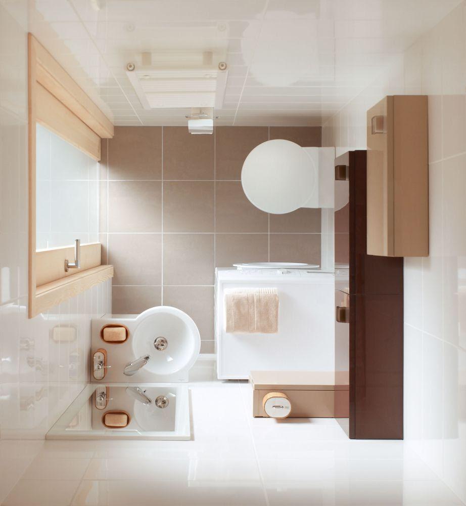 Pomysły na aranżacje małych łazienek | Modny-Dom.pl