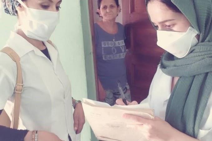 """Estudiantes saharauis de Medicina: """"contribuir a la investigación para prevenir de la COVID-19 es como dar las gracias a Cuba"""""""
