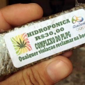 Maconha é vendida com marca das Olimpíadas e traz recado surpreendente