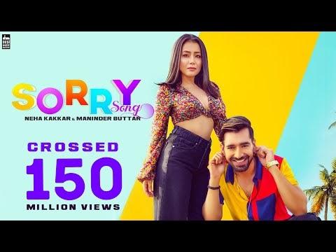 Sorry Song – Neha Kakkar & Maninder Buttar   Babbu   MixSingh   Latest Punjabi Song 2019