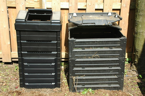 Comparison of Garden Gourmet (left) and Biostack (right)