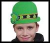 Irish Foamie Derby Hat Craft for St. Patricks Day
