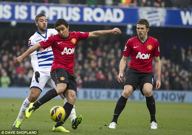 Pick that one out: Redknapp described Rafael's goal as a 'worldie'