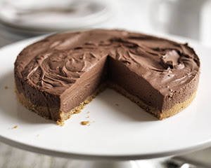 Easy chocolate cheesecake | Good Food Channel