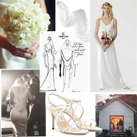 Bridal Style: Carolyn Bessette Kennedy   Tara Guérard Soirée