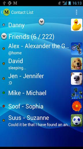 MSN Messenger Mercury Donate v1.6.1 apk