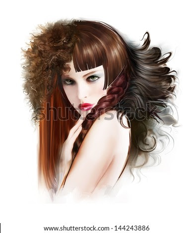 Different Types Of Female Hairstyles Stock Photo 144243886 : Shutterstock