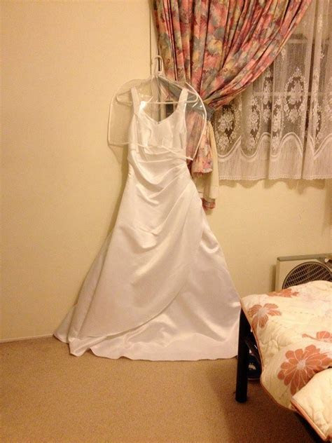 Turning wedding gown into cocktail dress