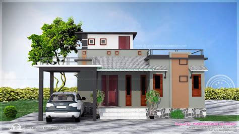 sq feet small budget house kerala home design