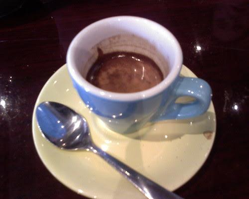 Double espresso @ Cafe Collage (greenwich village)