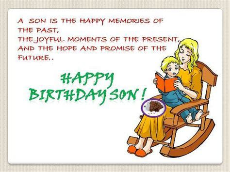 Beautiful B?day Wish For A Dear Son. Free For Son