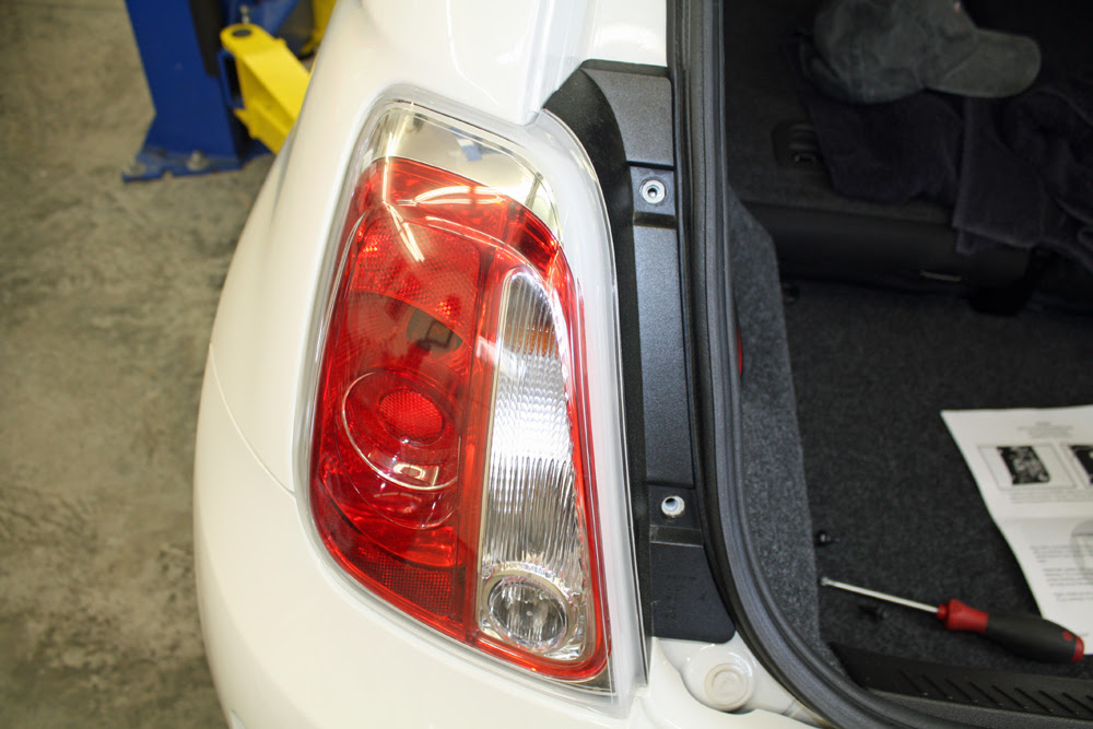 Fiat 500 Abarth  Fiat 500 Abarth Tail Lights