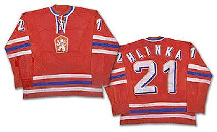 Czechoslovakia 1976 jersey, Czechoslovakia 1976 jersey