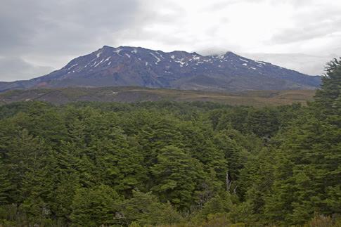 Mt Ruapehu, Tongariro National Park, New Zealand