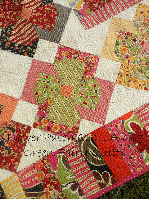 Flower Patch Quilt Along 2