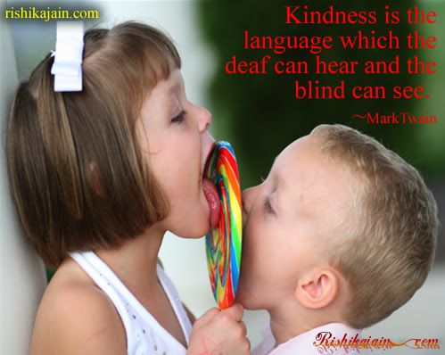 Mark Twain , deaf, blind , Kindness / Nice Quotes – Inspirational Quotes, Pictures and Motivational Thought.good thought