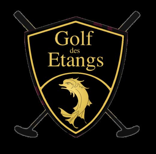 Golf des Etangs Logo is  a good golf logo design