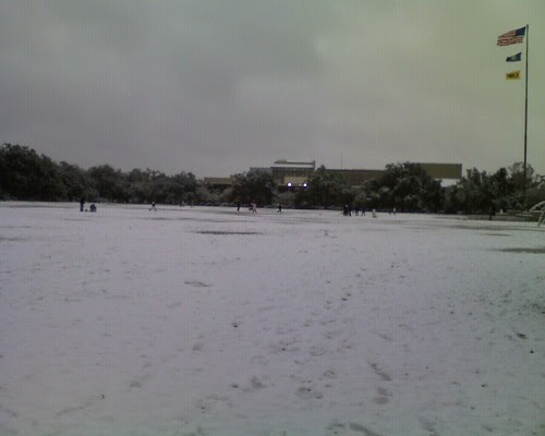 parade ground at LSU