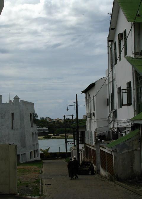 La promenada in Mombasa
