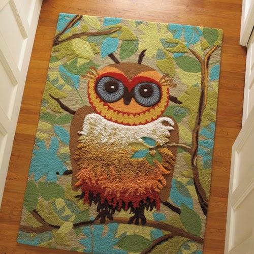 My Owl Barn: Give A Hoot Rug