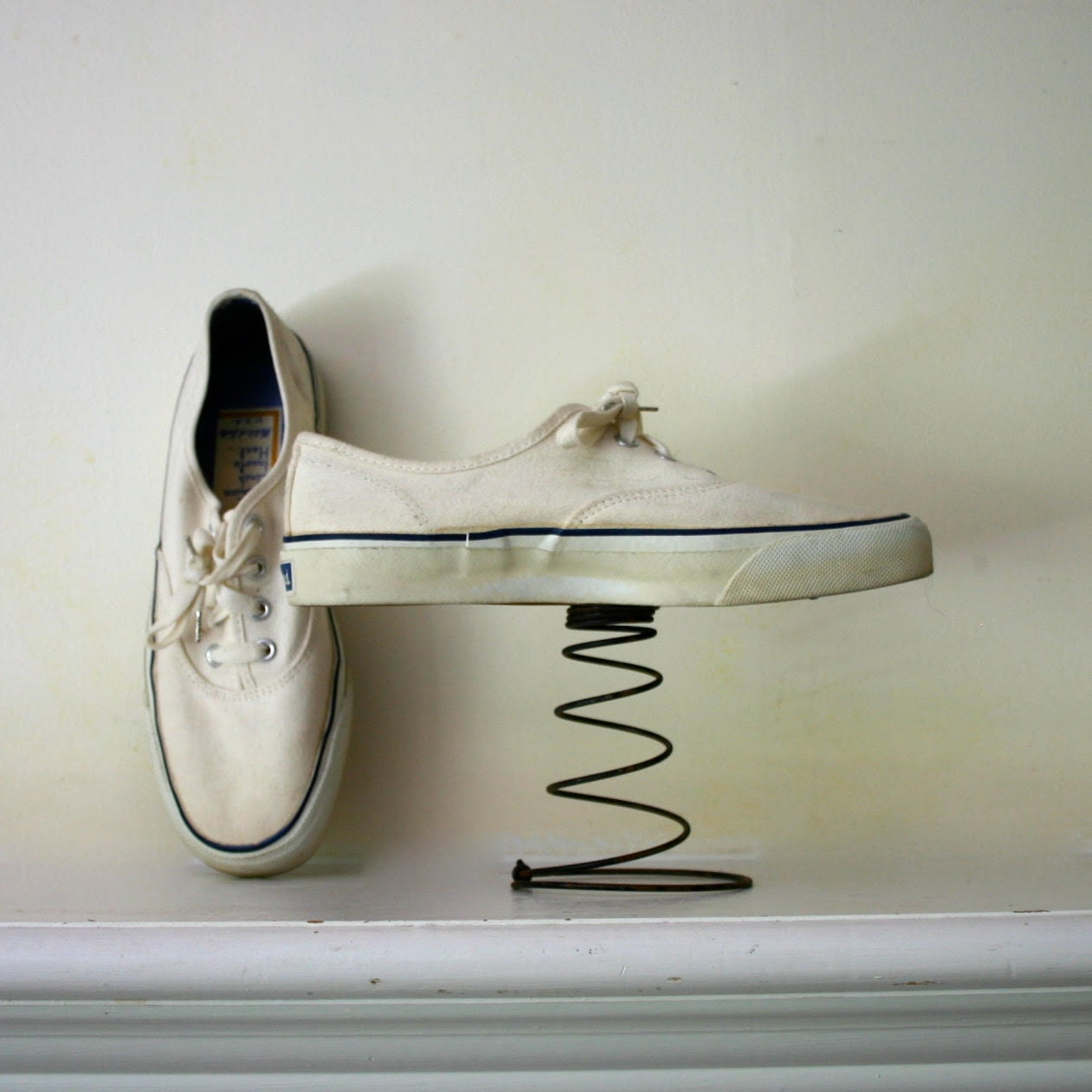 cool Vintage Sears sneakers great for boating or a walk in the park