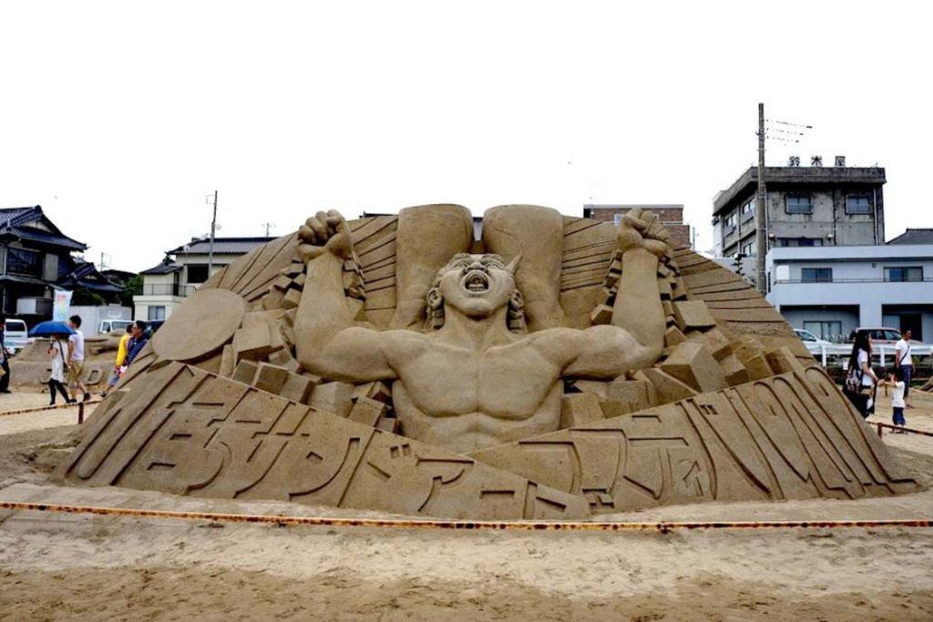 As extraordinárias esculturas de areia de Toshihiko Hosaka 22