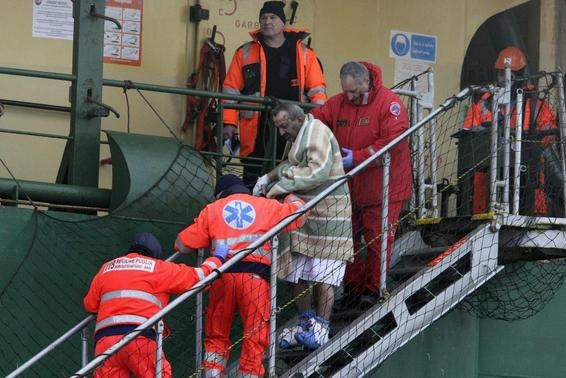 Rescued ferry passengers arrive in Italy, 149 still stranded - Reuters