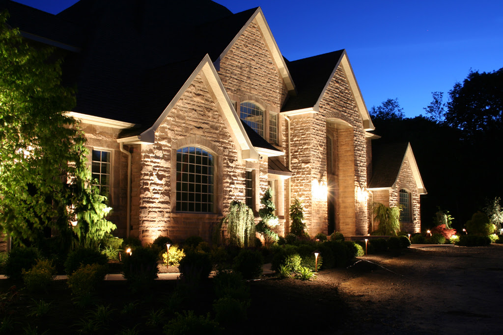 Outdoor Lighting New Hartford NY - Stone Age Landscaping