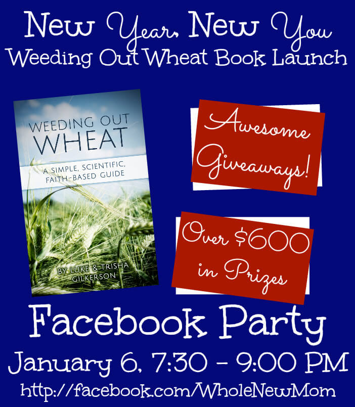 Weeding Out Wheat Book Launch Facebook Party