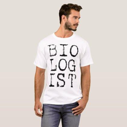 Biologist Men's Shirt