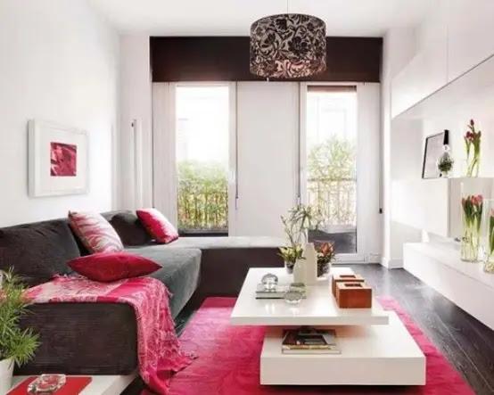 66 Airy And Elegant Feminine Living Rooms - 25 - Pelfind