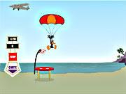 Jogar Daffy duck sky diving Jogos