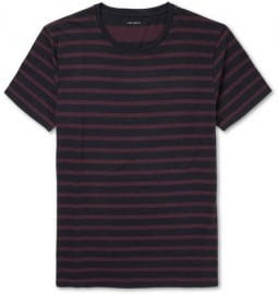 Club Monaco Striped Cotton-jersey T-shirt