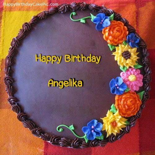 Image result for Birthday cake for Angelika
