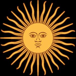 Sol De Mayo Bandera De Argentina Clip Art At Clkercom Vector Clip